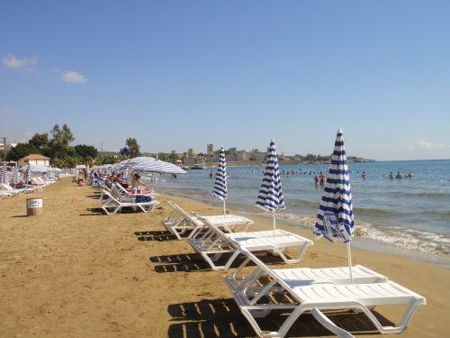 центральный пляж в Кызкалеси Kizkalesi