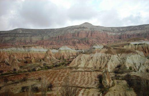 Красная долина Каппадокия