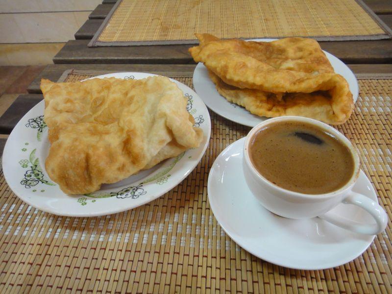 чебуреки и кофе из Абхазии