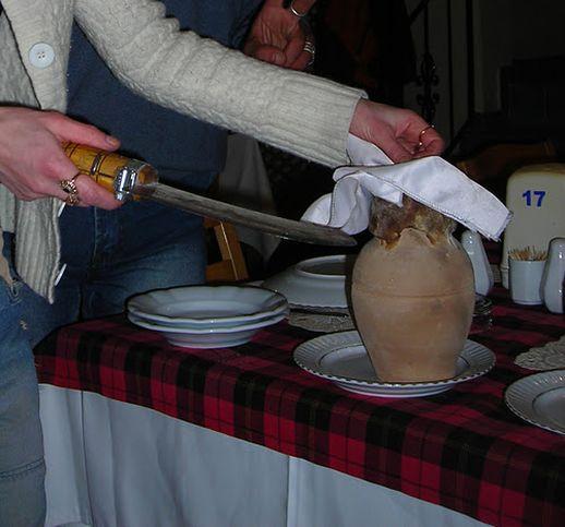 кухня каппадокии тести кебаб