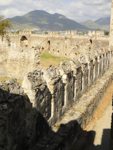 крепость мамуре mamure kale прогулка по стенам