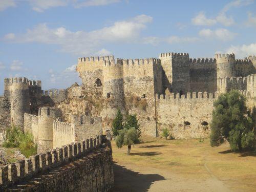крепость мамуре вид с крепостных стен mamure kale