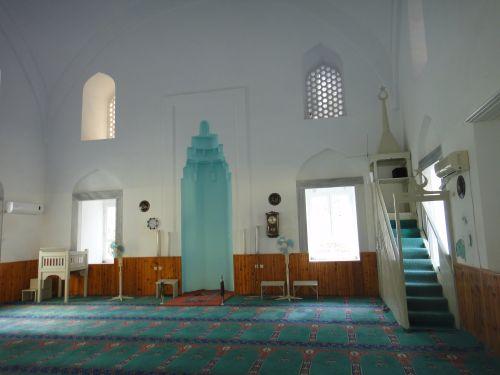 крепость мамуре mamure kale внутри мечети