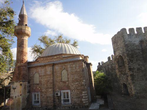 крепость мамуре mamure kale крепостная мечеть