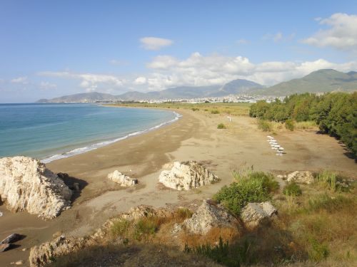крепость мамуре mamure kale пляж