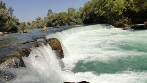 Манавгат водопад selale Manavgat со смотровой площадки