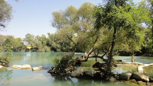 река Манавгат водопад selale Manavgat