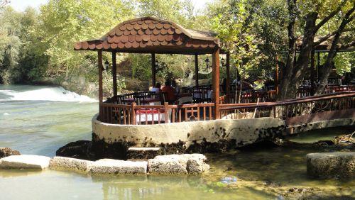 ресторан Манавгат водопад selale Manavgat