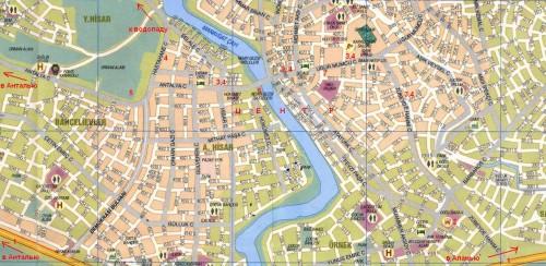 манавгат карта города