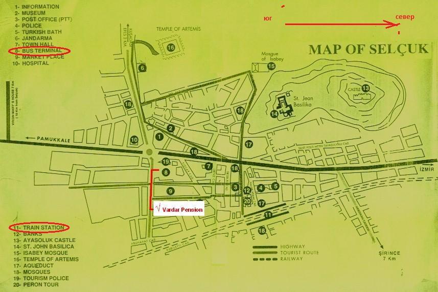карта Сельчук