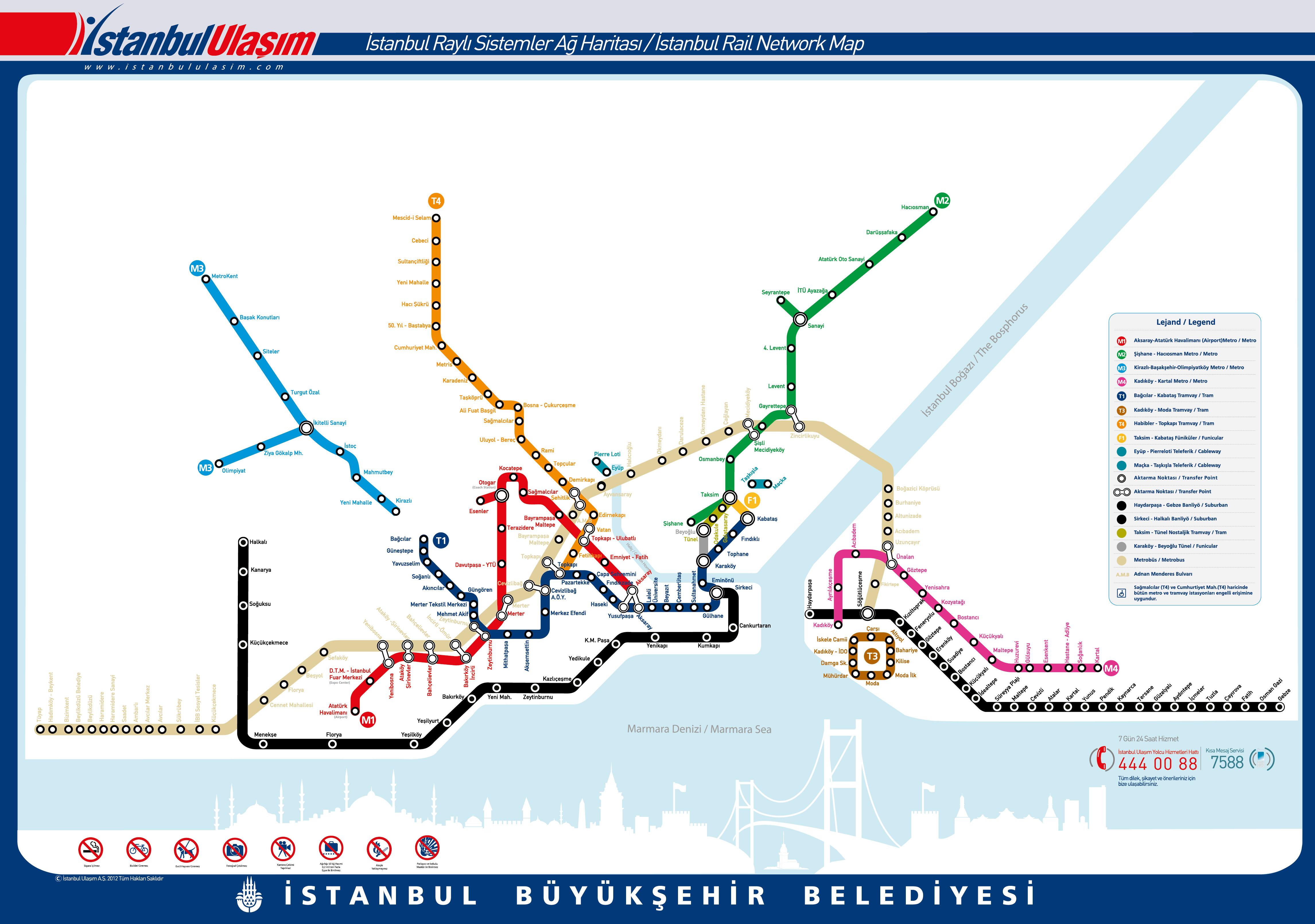схема метрополитена в минутах
