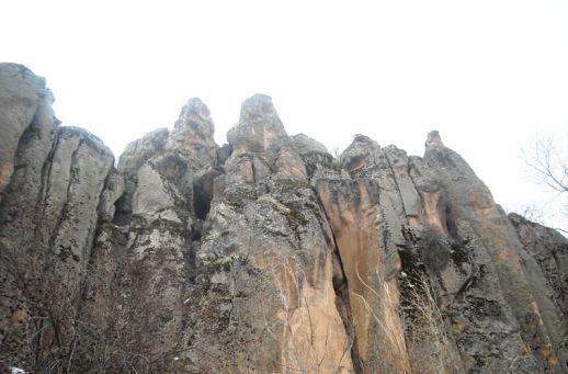 Монастырская долина Гюзельюрт Каппадокия Турция