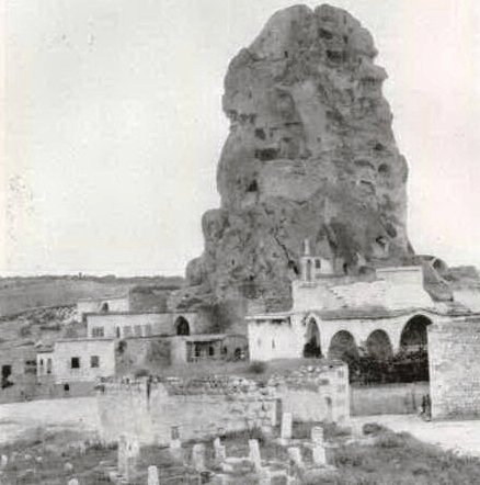 Ортахисар Каппадокия старое фото