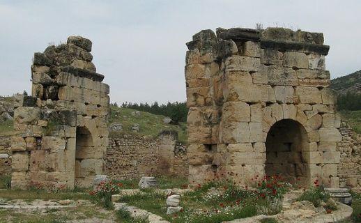 Иераполис Памуккале Турция