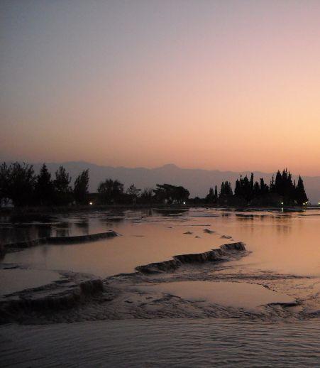 Памуккале Иераполис Турция