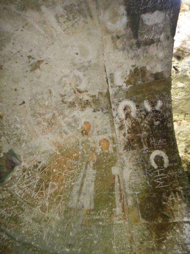 пещера Рай Дженнет фрески в церкви Девы Марии Пещеры Рай и Ад, Астма