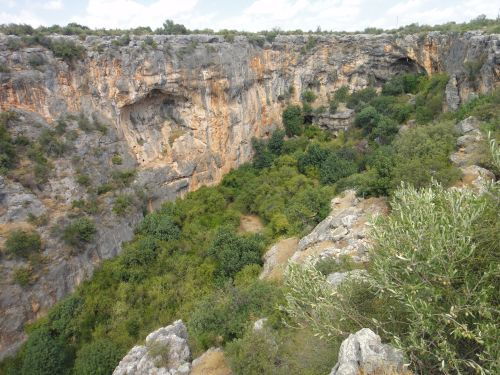 панорама на пещеру Рай дженнет Пещеры Рай и Ад, Астма