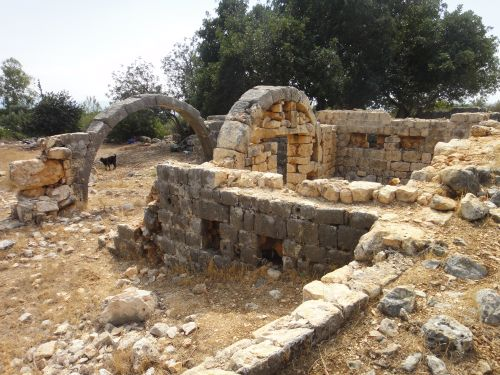 Руины зданий пещера рай ад астма дженнет джехеннем