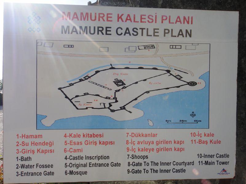 план схема крепости Мамуре