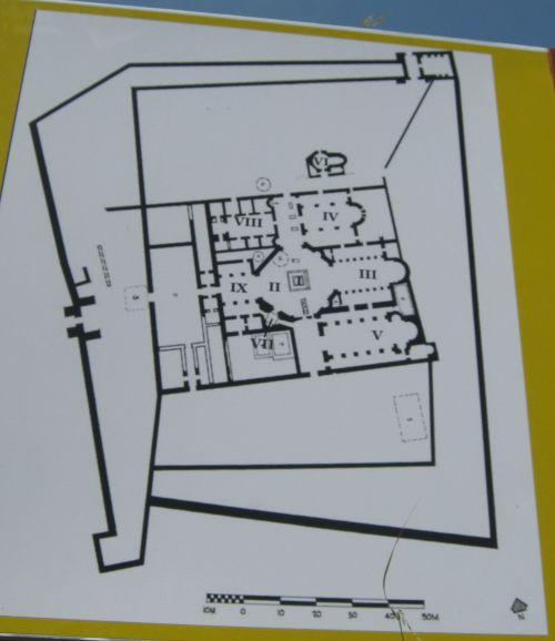 План монастыря Святого Симеона