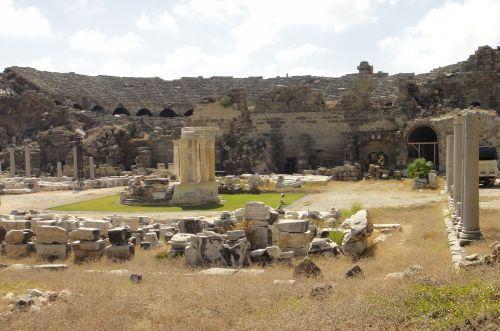 античный город сиде side