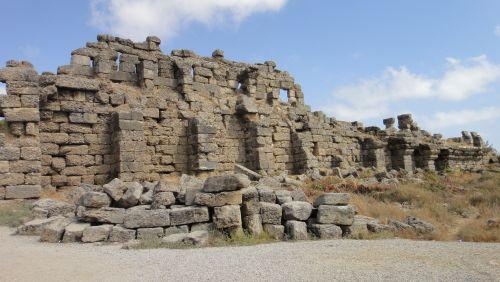 крепостные стены сиде
