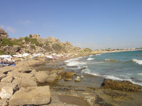 маленький пляж Сиде