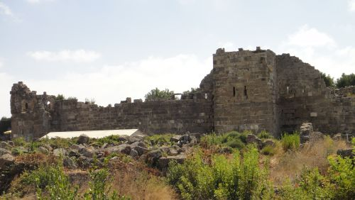 внутренняя крепостная стена сиде