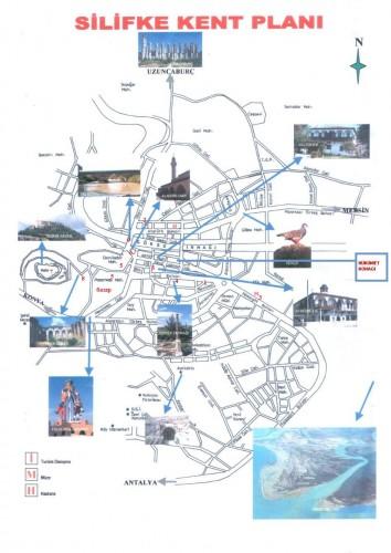карта силифке