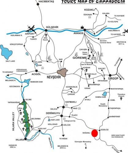 Долина Соганлы Турция Каппадокия