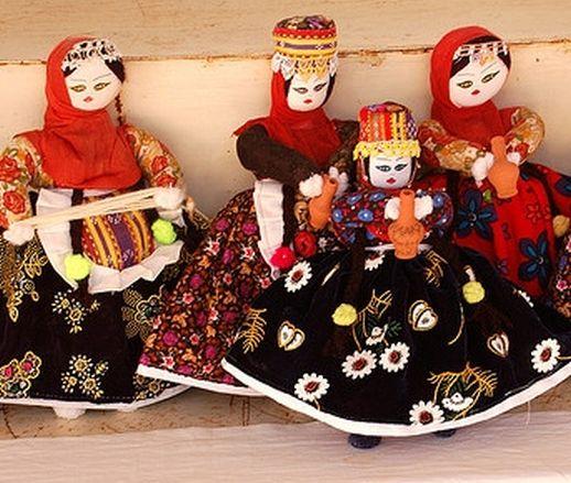 Соганлы Каппадокия Турция куклы