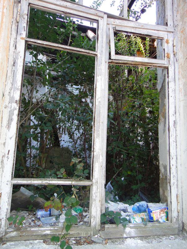 заброшенный дом в Сухуме