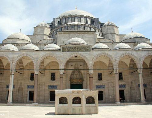 двор мечеть сулеймание