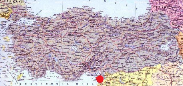 монастырь святого Симеона на карте
