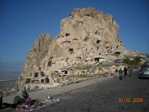 крепость Учхисар Каппадокия