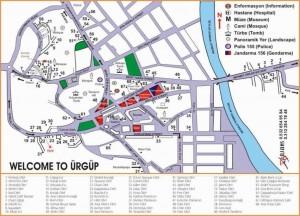 Карта Юргюпа