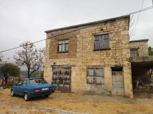 Узунджабурч uzuncaburc деревенский дом