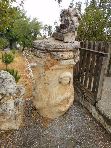 Узунджабурч uzuncaburc античные рельефы