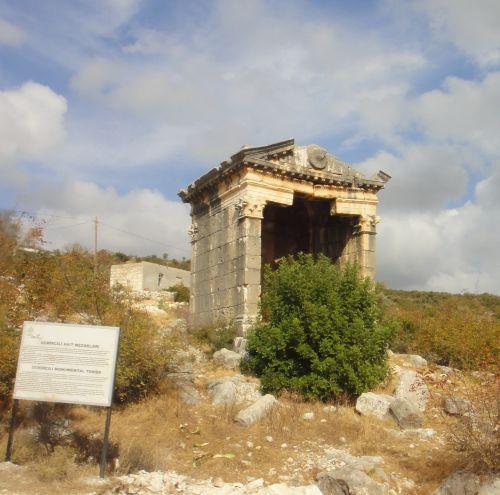 Узунджабурч uzuncaburc демирджили гробница
