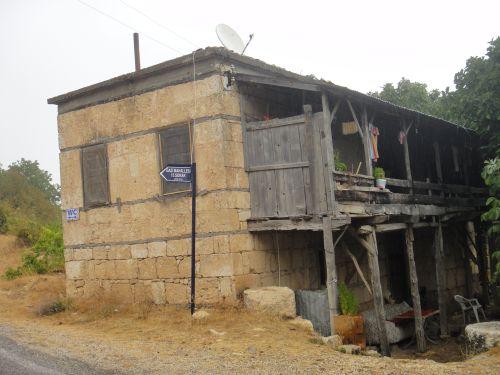Узунджабурч uzuncaburc местные дома