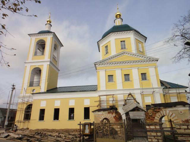 Верея церковь Константина и Елены
