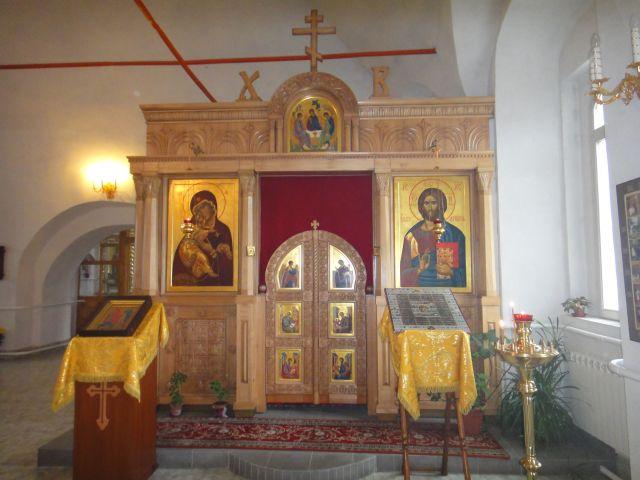 Верея Богоявленская церковь