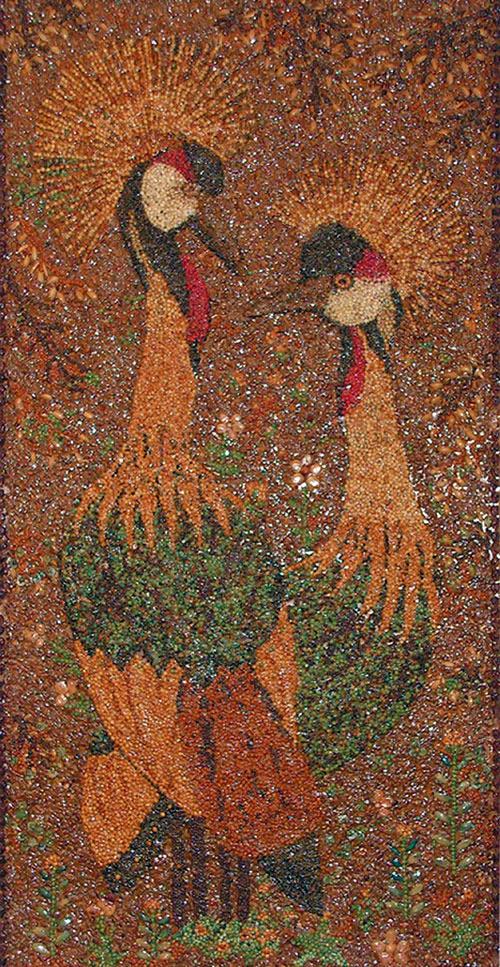 Галерея Зинаиды Тимофеевны Кореневой картины из семян