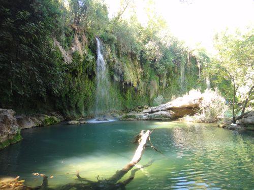 панорама водопад куршунлу kursunlu selalesi