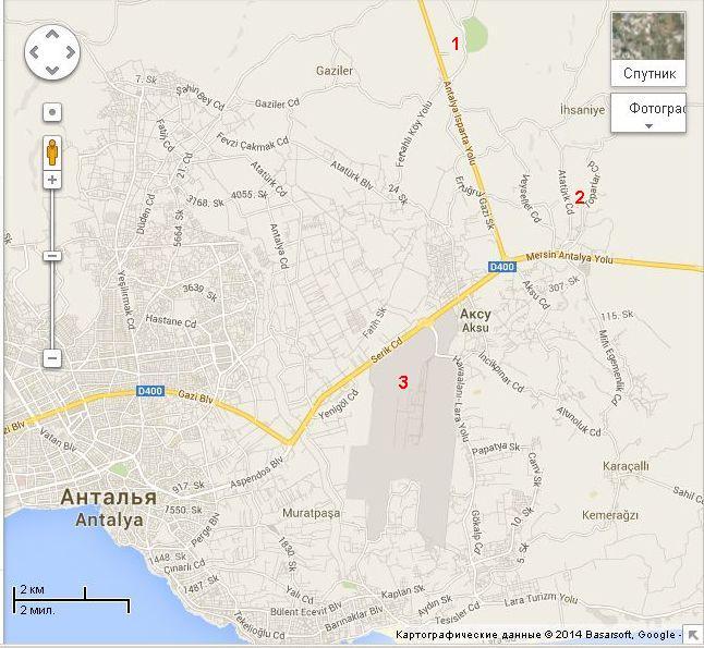 водопад куршунлу на карте турции