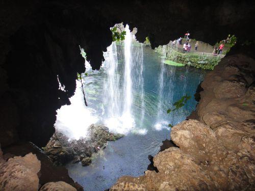 водопад верхний дюден сзади анталья