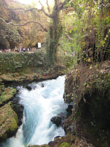 водопад верхний дюден анталья по дороге