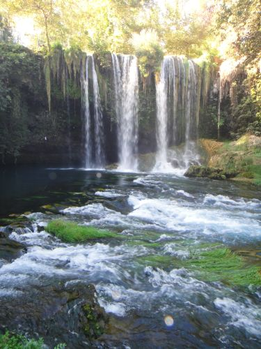 водопад верхний дюден анталья