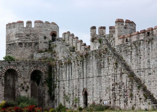 крепостные стены Едикуле Йедикуле