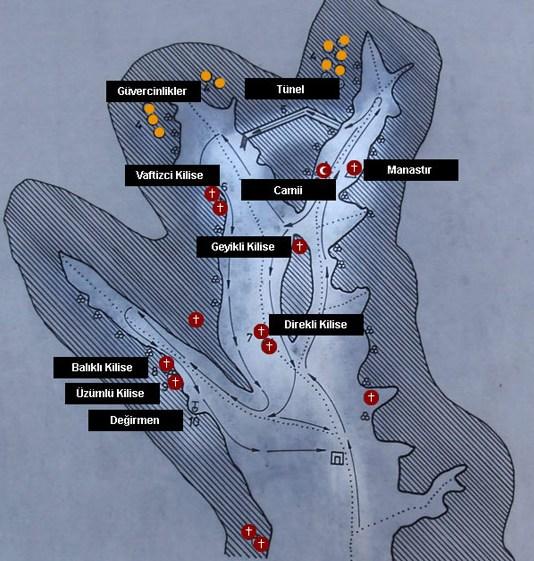 карта Зельве Каппадокия